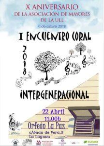 Asociación de Mayores de la ULL @ Orfeón La Paz | San Cristóbal de La Laguna | Canarias | España