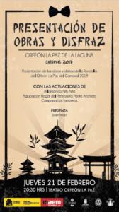 Presentación Obras y Disfraz Carnaval 2019 @ Orfeón La Paz